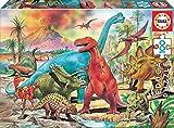 Educa - Dinosaurios Puzzles, 100 Piezas, Multicolor, 13179